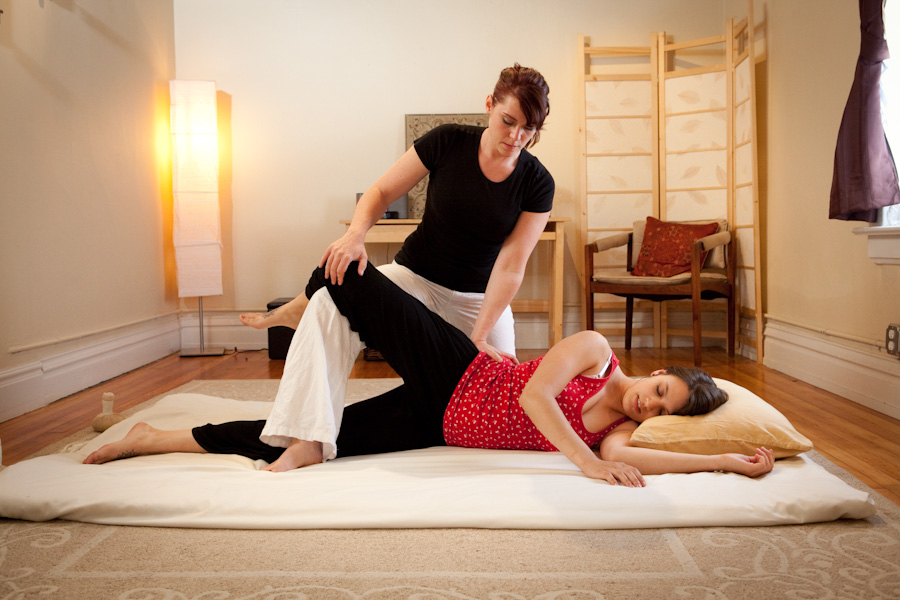 The Drop on Thai Yoga Massage
